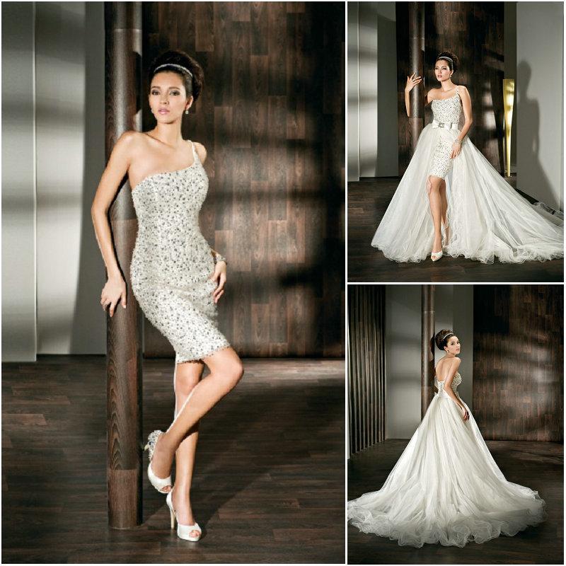 b62cdcaae71 526 1 robe de mariée courte robe de mariée amovible ...