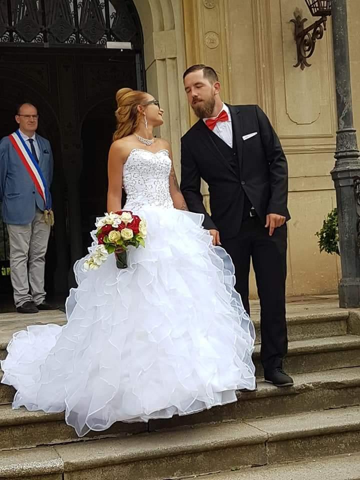 Robe de mariée personnalisé