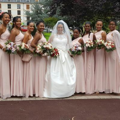Création de 8 Robes de demoiselle d'honneur
