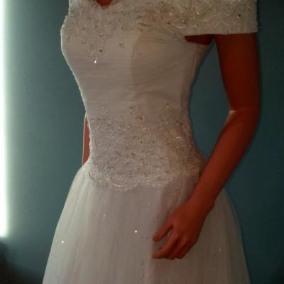 Broderies robe de bal
