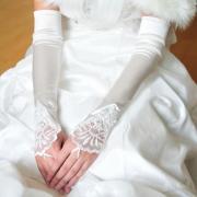 gant mariage satin