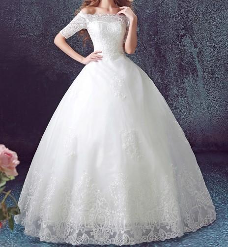 2015 hiver nouvelle dentelle de luxe plus size robes de mari eacute 1