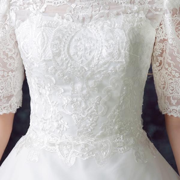 2015 hiver nouvelle dentelle de luxe plus size robes de mari eacute 2