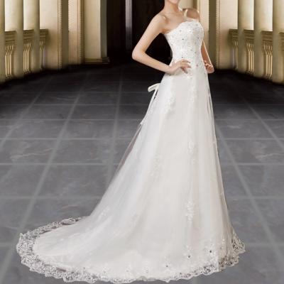Robe de mariée bustier coupe sirène