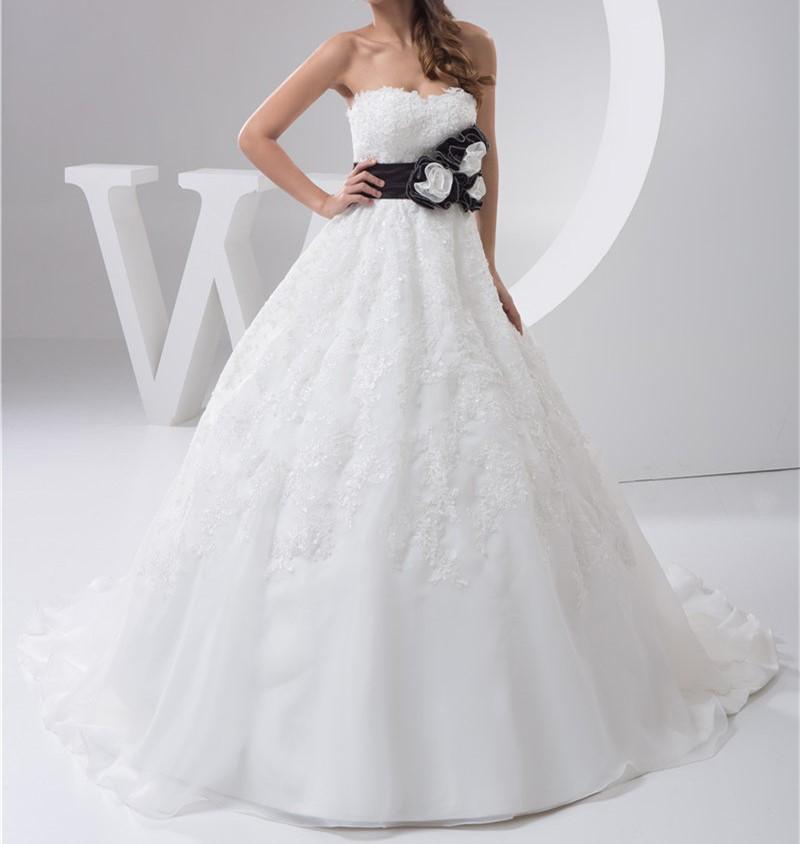 2016 blanc louisvuigon robe de noiva robe de mariage de mariee fleur une ligne applique dentelle