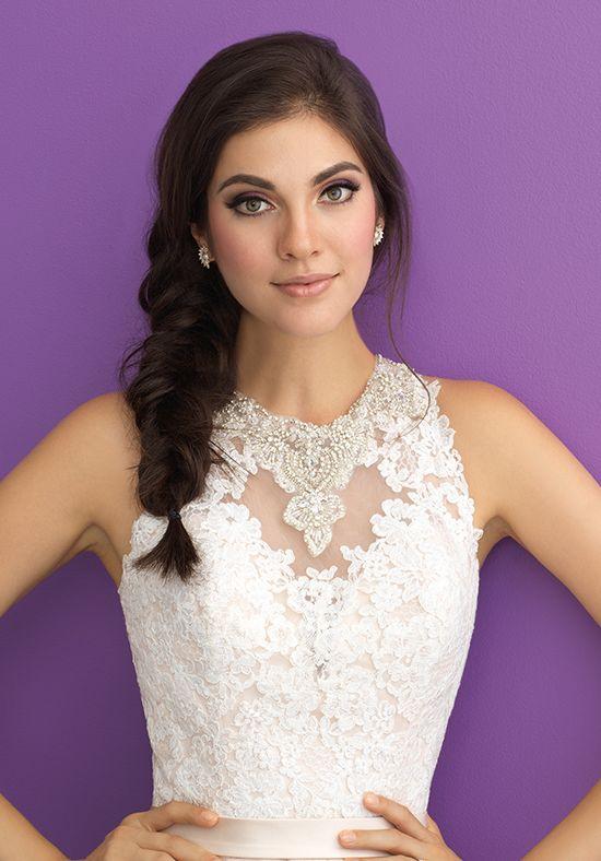 corsage robe de mariée brodée