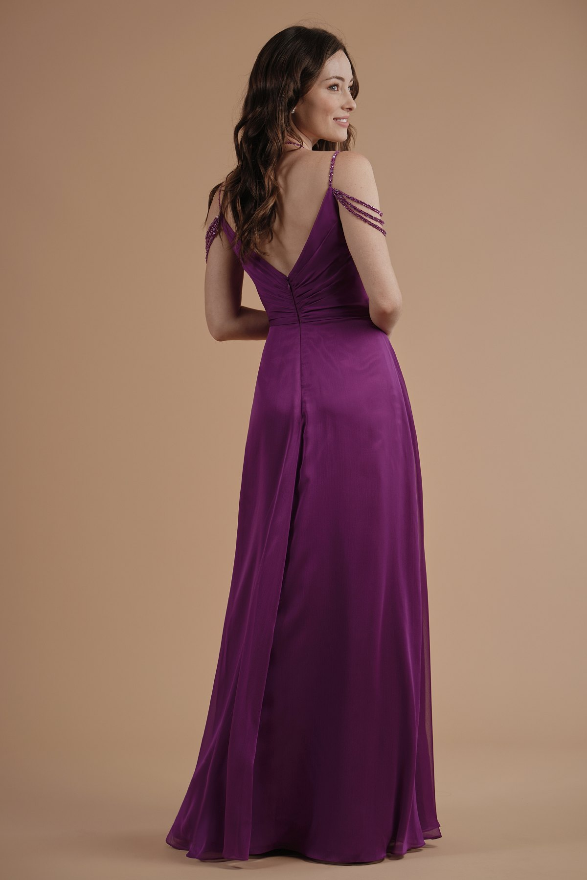 Bridesmaid dresses l214003 b