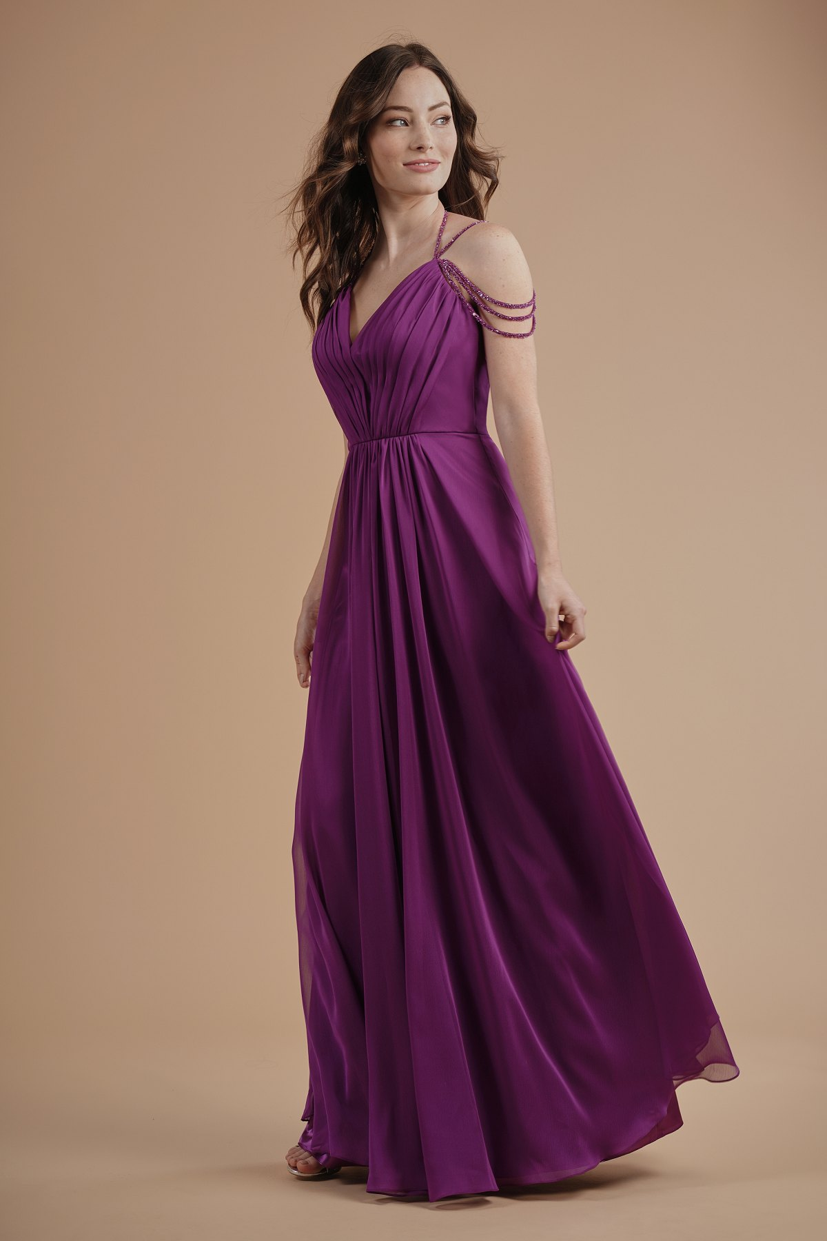 Bridesmaid dresses l214003 f