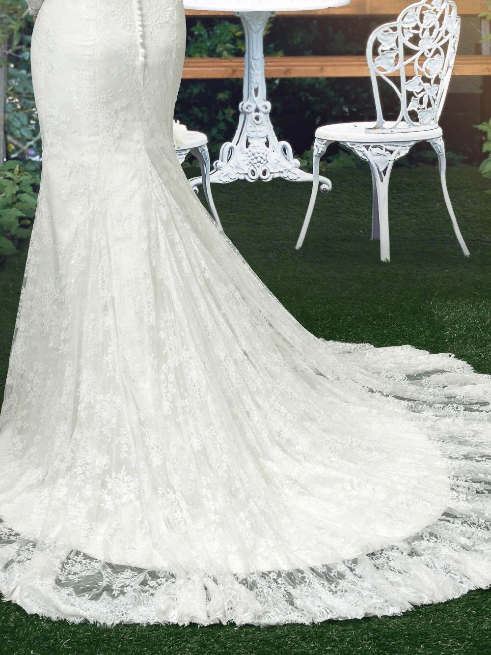 Dressv blanc vintage sir egrave 2