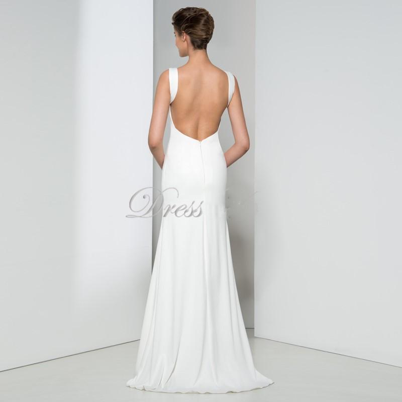 Dressv huate couture 2016 longues blanc robes de soir eacute 1
