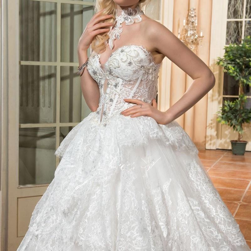 Dressv vintage ivoire bal robe de mari eacute 2