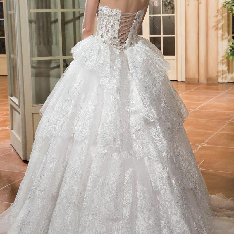 Dressv vintage ivoire bal robe de mari eacute 3