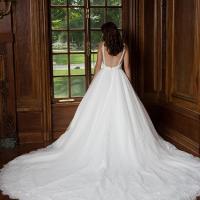 robe mariage grande traîne