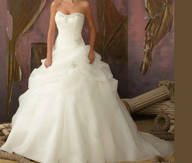robe pour la mariée princesse