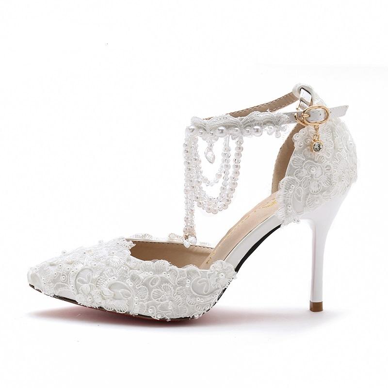 chaussure de mariée à bride