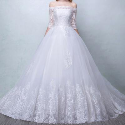 Robe de mariée avec ou sans traîne