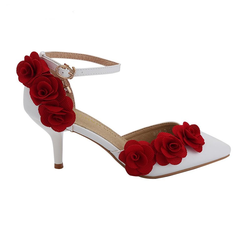 chaussure mariée fleur