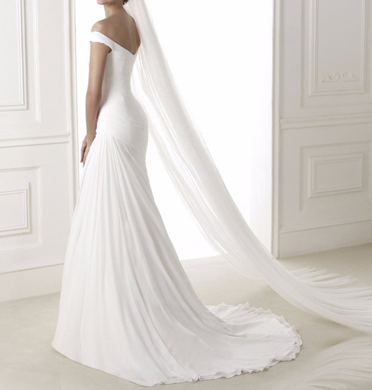 robe de mariée sirène avec traine