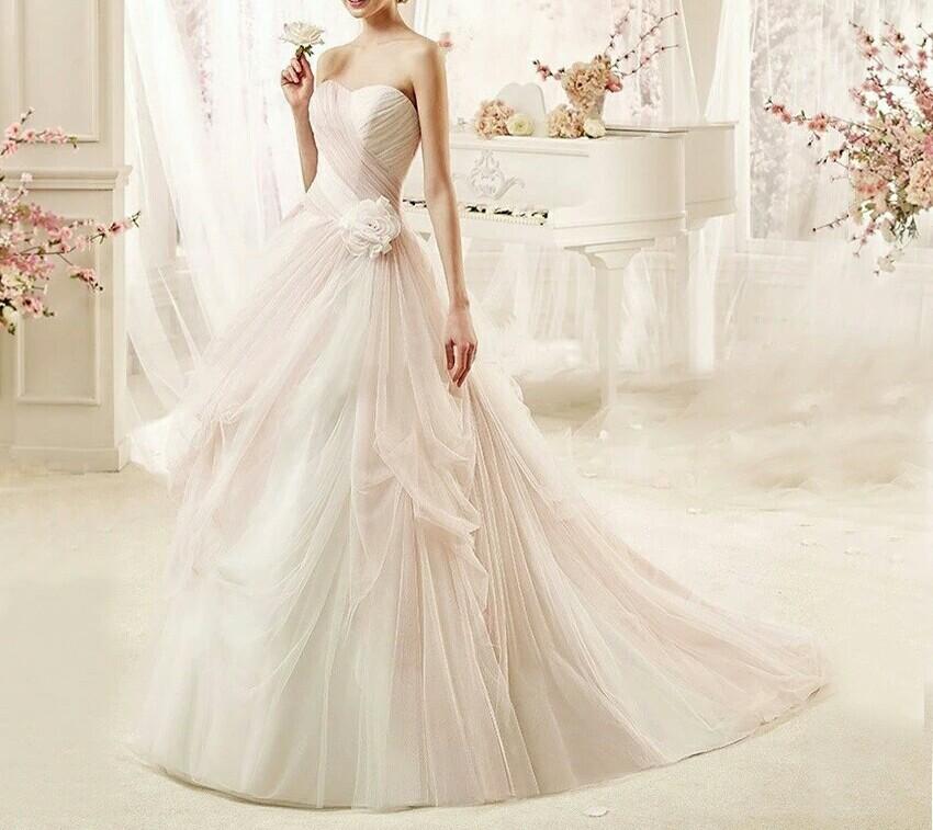 robe de mariée originale tissu tulle