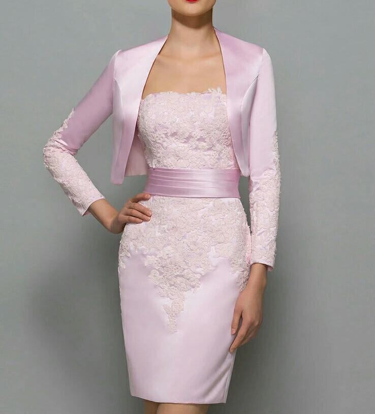 Robe pour la mère de la mariée rose