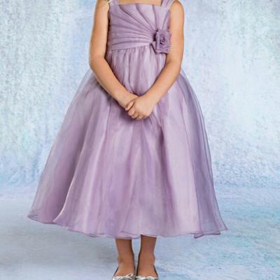 Robe de demoiselle d'honneur enfant