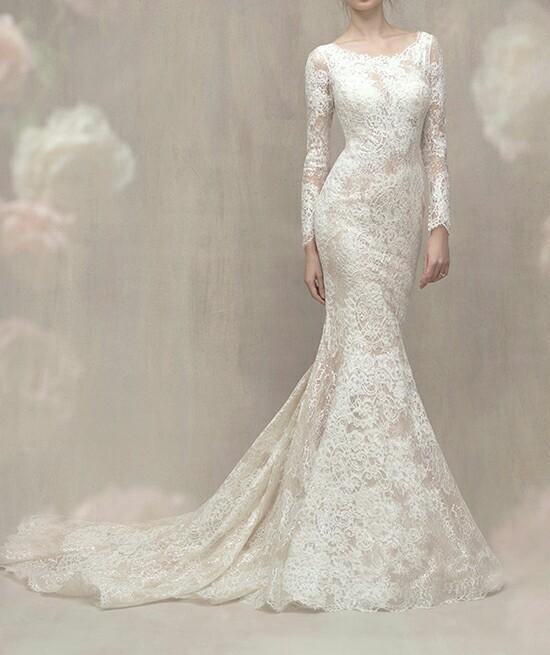 robe sirène dentelle pour mariage