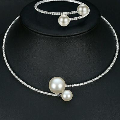 Parure bijoux perle