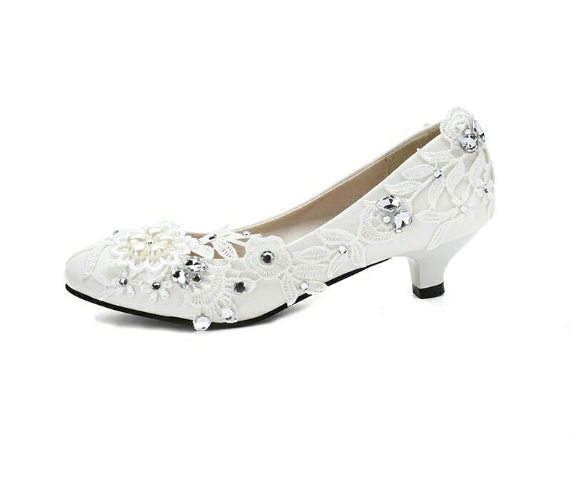 Chaussure de mariée fait main