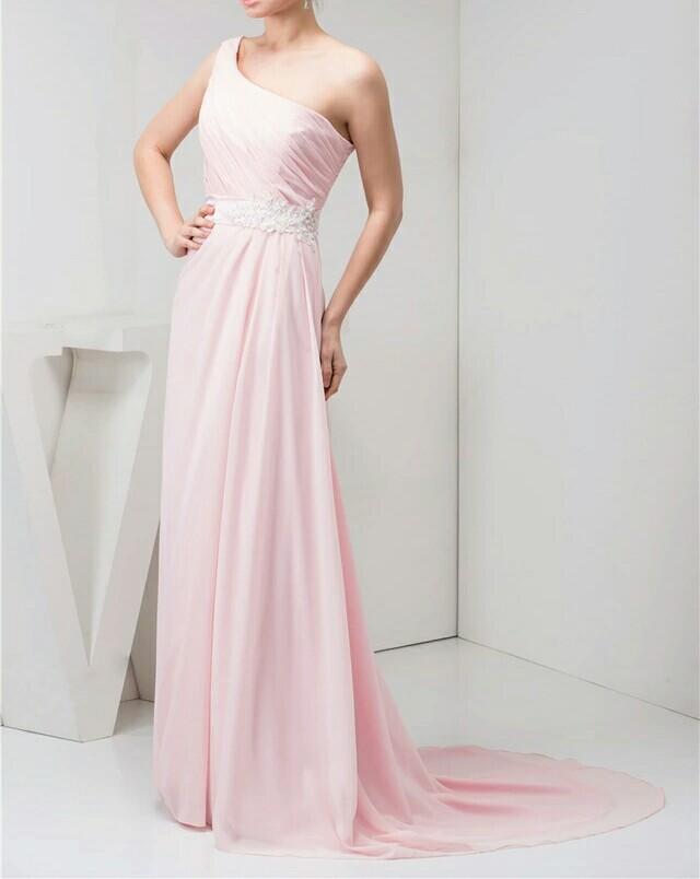 robe de demoiselle d'honneur rose sur mesure