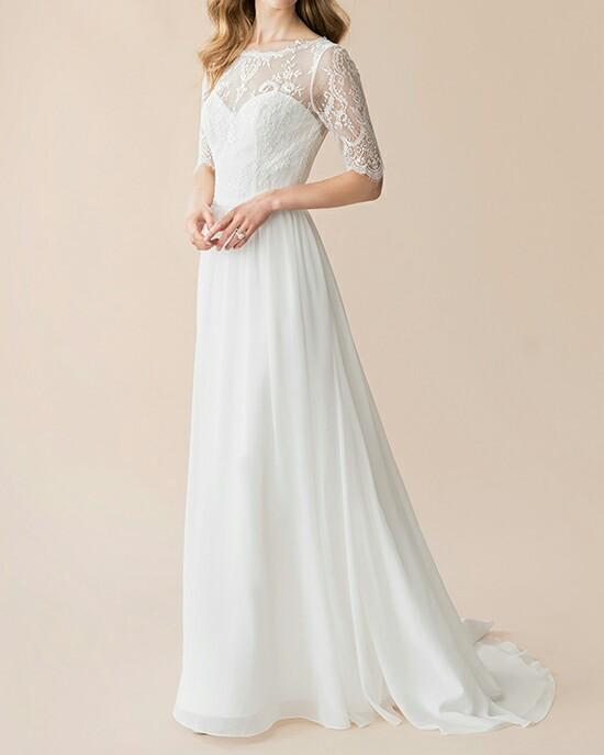 robe pour la mariée tissu mousseline