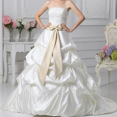 robe pour mariage bustier avec ceinture