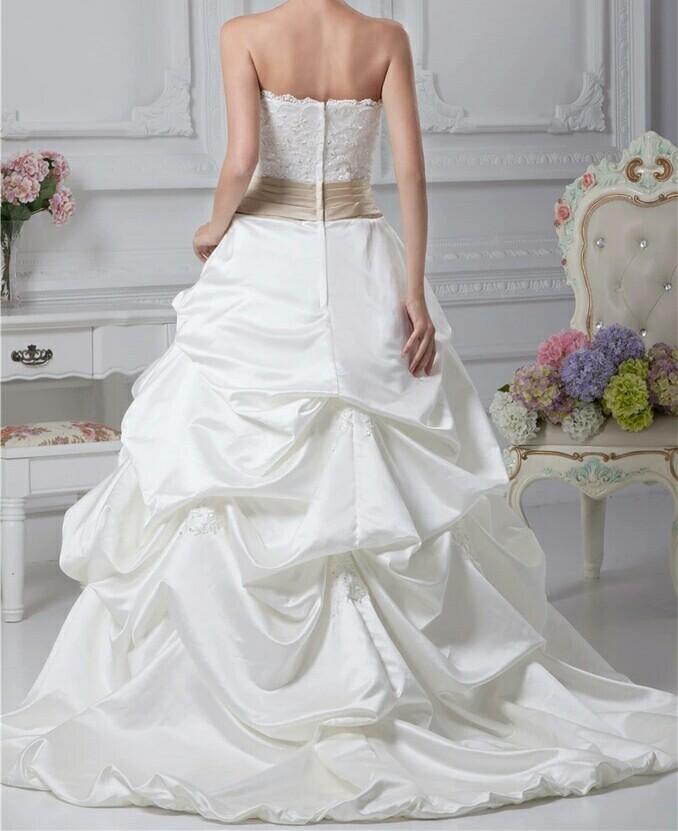 robe de mariée tissu satin robe de bal