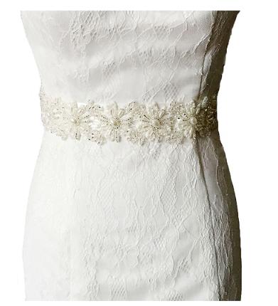 Ceinture pour robe de mariée