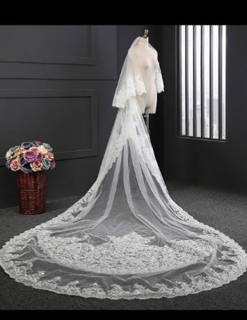 Vente de voile pour mariée en ligne