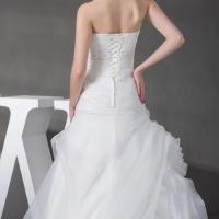 Dos de robe de mariée