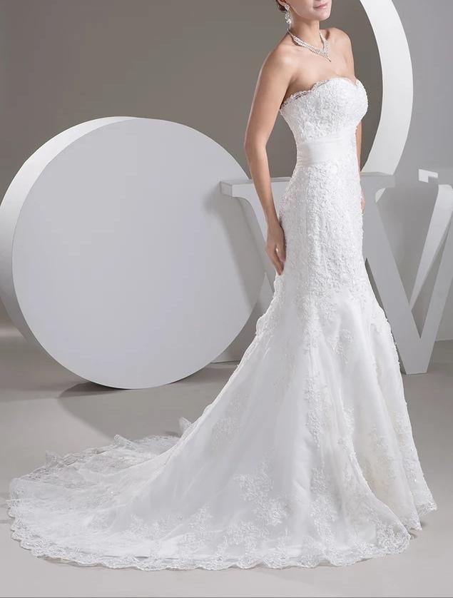 Robe de mariée blanche pas cher
