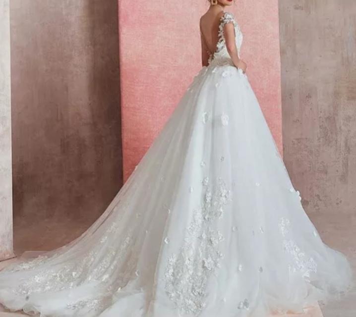 Robe de mariée de qualité sur mesure