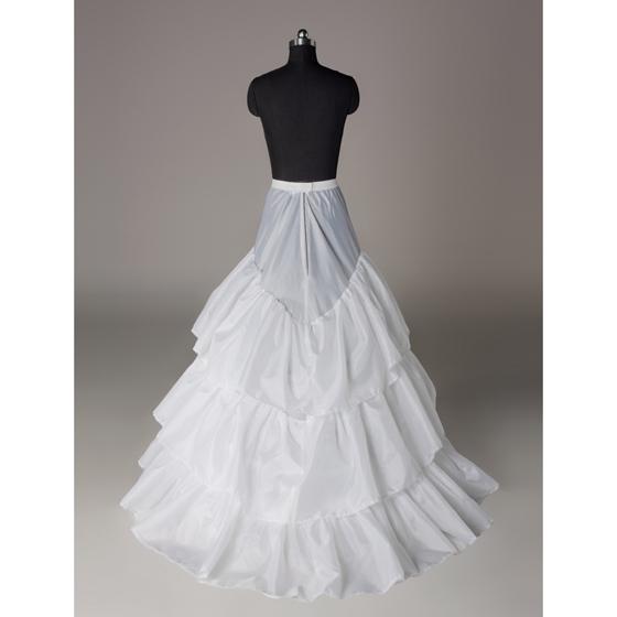 Novia enaguas jupon de mariage jupe slip accessoires chemise 3 trois hoops pour une ligne de
