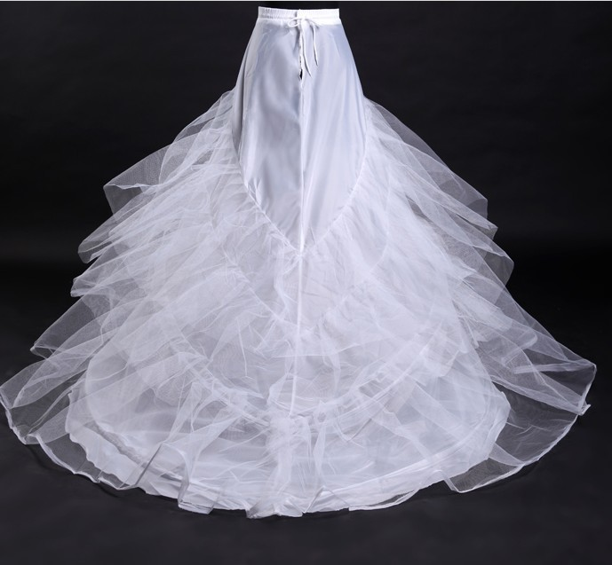 Novia enaguas jupon de mariage jupe slip accessoires de mariage chemise 2 deux hoops pour une 1