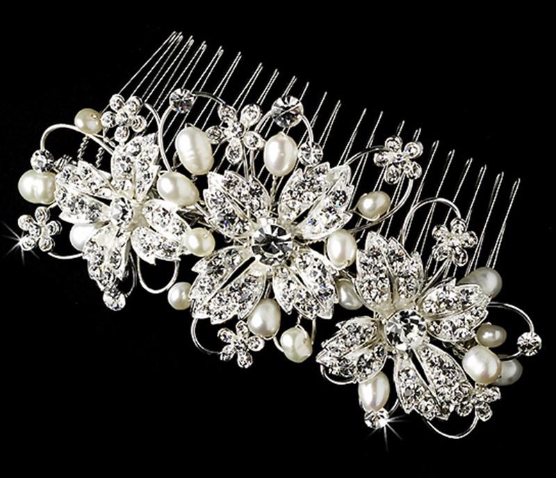 Perle peigne nuptiale accessoires cheveux bijoux de mariage de saint valentin cadeau trendy party style