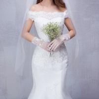 Plus la taille livraison gratuite robe de mariage dentelle sir egrave 1