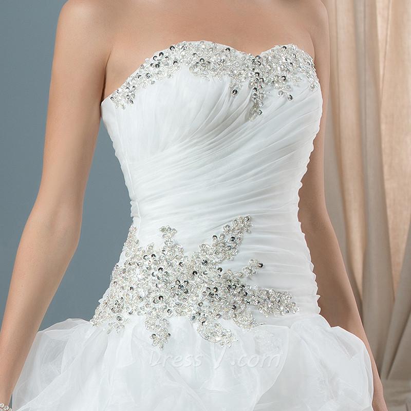 Real photo robe de bal robes de mari eacute 1