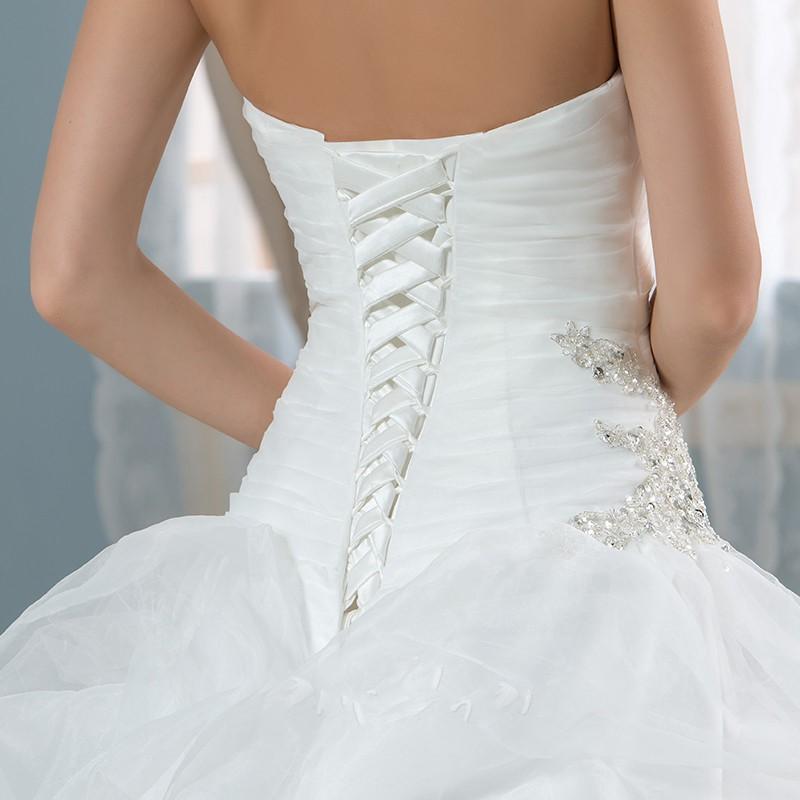 Real photo robe de bal robes de mari eacute 2