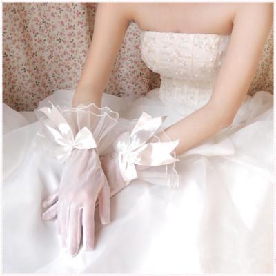 Gants de mariée court