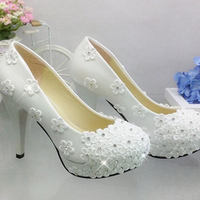 Chaussure mariage à talon haut