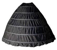 jupon robe de mariée noir